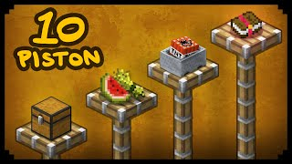 Download ✔ Minecraft: 10 Ways to Use Pistons Video