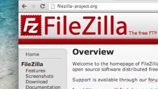 Download How to use FileZilla FTP Client - Tutorial Video