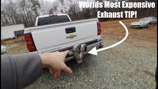 Download The WORLDS MOST EXPENSIVE DIESEL EXHAUST TIP!!!!!!!! Video