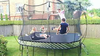 Download THE BIGGEST TRAMPOLINE YOU CAN BUY! Video