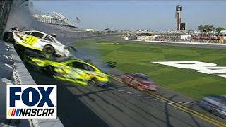 Download Parker Kligerman Flips Into Fence - Daytona 500 Practice - 2014 NASCAR Sprint Cup Video