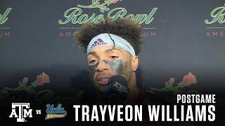 Download UCLA Postgame   Trayveon Williams 9.3.17 Video