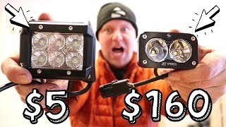 Download CHEAP vs. EXPENSIVE: LED Pod Lights (Unboxing) Video