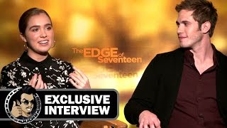 Download Blake Jenner & Haley Lu Richardson Exclusive Interview - THE EDGE OF SEVENTEEN (2016) JoBlo Video