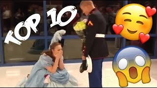 Download Top 10 best HEARTWARMING military homecomings Video