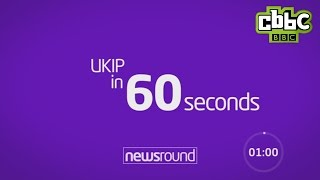 Download UKIP in 60 seconds - CBBC Newsround Video