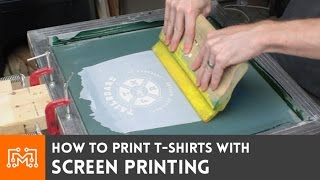 Download Screen Print your own t-shirts // How-To Video