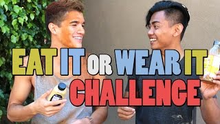 Download EAT IT OR WEAR IT CHALLENGE! Video