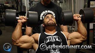 DELTOID Workout for BIG FULL Shoulders - Wes & Wes Free