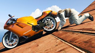 Download WORLD'S HARDEST IMPOSSIBLE RACE! (GTA 5 Funny Moments) Video