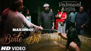 Download Making of Binte Dil Video Song   Padmaavat   Ranveer Singh   Jim Sarbh   Sanjay Leela Bhansali Video