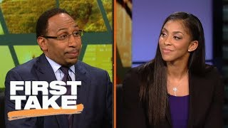 Download Candace Parker says LaVar Ball's actions are 'giving players power' | First Take | ESPN Video