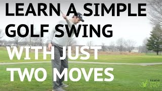 Download Learn A Simple Golf Swing In 2 Moves - Push and Pull Video
