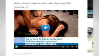 Download ″Tak się bawią 18-latki na domówkach″ UWAGA na Szokujące newsy! Video