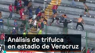 Download Análisis de trifulca en estadio de Veracruz - Violencia - Denise Maerker 10 en punto Video