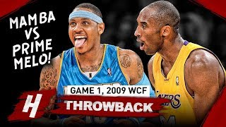 Download The Game That Kobe Bryant Faced PRIME Carmelo Anthony! Game 1 Duel Highlights 2009 WCF - EPIC! Video
