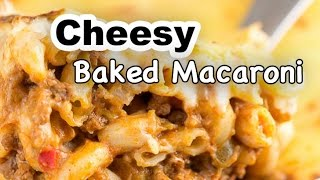 Download Cheesy Baked Macaroni Video