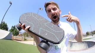 Download THE WORLD'S FIRST ARTIFICIAL INTELLIGENCE SKATEBOARD! Video