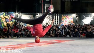 Download PradaG & Smurf vs Stripes & Tata G-SHOCK REAL TOUGHNESS Japan 2012   YAK FILMS Video