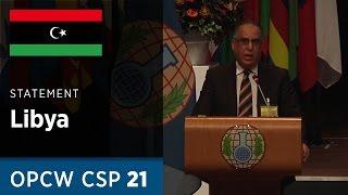 Download Libya Statement delivered by Dr Ali Gebril Werfeli at CSP21 Video