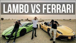 Download Lamborghini Huracan VS Ferrari 488 Video
