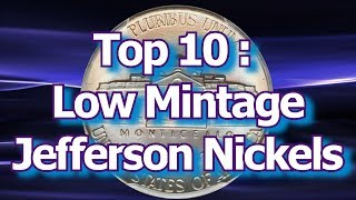 Top 10 Jefferson Nickel Repunched Mint Marks Varieties and Errors