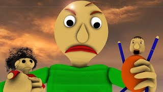 Download [SFM BALDI] Baldi's Basics In Learning REVENGE OF GIANT BALDI GIANT VS BULLY & PLAYTIME (Animation) Video