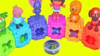 Download CORES Peppa Pig Patrulha Canina Super Wings Brinquedos Surpresas Massinhas Tintas Ingles 7 EPISODIOS Video