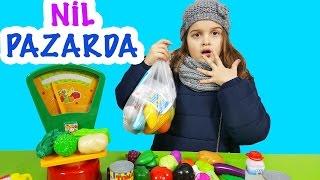 Download Nil Pazarda Çizgi Film Tadında | Eğlenceli Çocuk Videosu | EvcilikTV Video