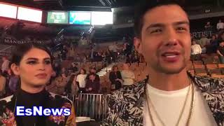 Download Luis Coronel And His Girlfriend Right After Rios Fight EsNews Boxing Video