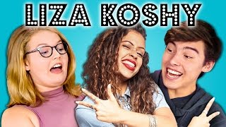 Download TEENS REACT TO LIZA KOSHY Video