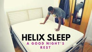 Download A Good Night's Rest: Helix Sleep Mattress!!! Video
