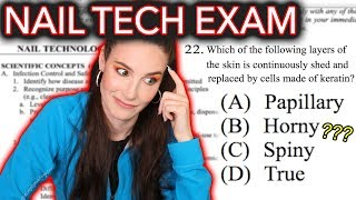 Download I Take A Nail Technician Exam (pass or nail?) Video