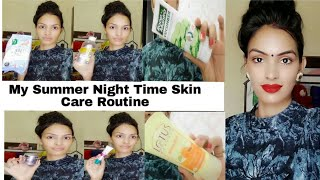 Download My Summer Night Time Skin Care Routine Oily Skin,Dry Skin, Normal Skin/ Skin Care Routine In Hindi Video