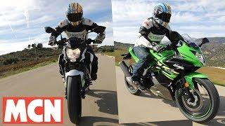 Download First ride: Kawasaki Ninja 125 + Z125 | Motorcyclenews Video