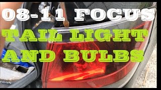 Download How to remove Tail light and bulb 08-11 Ford Focus Video