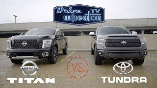 Download Nissan Titan vs. Toyota Tundra | Full-Size Pickup Comparison Video