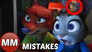 Download Disney Zootopia Movie MISTAKES You Didn't See | Zootopia GOOFS Video