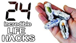 Download 24 Incredible Life Hacks and Gadgets! Video