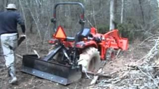 Download Tractor stuck in mud Video