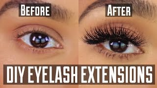 Download DIY PERMANENT AT HOME EYELASH EXTENSION APPLICATION Video