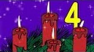 Download Advent, Advent - Deutsch lernen mit Kinderliedern - Yleekids Deutsch lernen Video