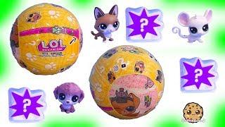 Download LOL Surprise Pets + LPS Littlest Pet Shop - Cookie Swirl C Toy Video Video