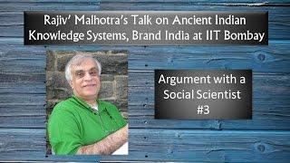 Download Argument with a Social Scientist at IIT Bombay: Rajiv Malhotra #3 Video