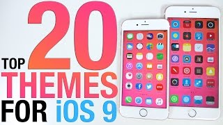 Download Top 20 iOS 9 Themes - BEST 9.0.2 Themes from Cydia Video
