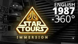 Download Star Tours: Immersion (1987) - English 360° Video