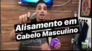 Download TUTORIAL: Como fazer alisamento em cabelo Masculino (Passo a Passo) Video