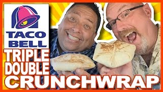 Download Taco Bell Spicy Triple Double Crunchwrap with JoeysWorldTour Video