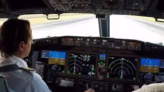 Download Boeing 737 MAX 8 - Start and Takeoff Procedures - Santa Cruz - Bolivia Video