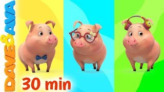 Download 🎨 This Little Piggy - Colors   Learn Colors with Dave and Ava 🎨 Video